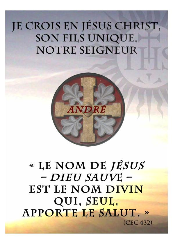 ❀ « Credo » pour les vocations ❀  prière pour les vocations 2013 Credo2