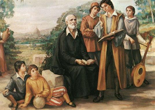 Saint Philippe Néri et les jeunes